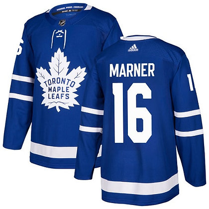Men's Toronto Maple Leafs Mitch Marner adidas Blue Authentic Player