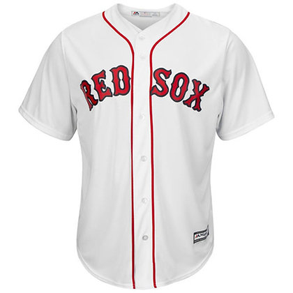 Men's Boston Red Sox Majestic White Home Cool Base Jersey