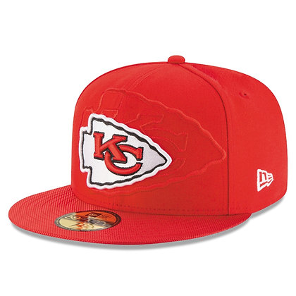 Men's Kansas City Chiefs On-Field New Era Red 59FIFTY Fitted Hat