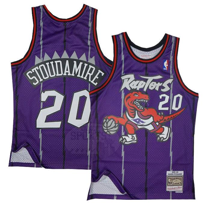 reputable site eeb7f 3304b Men's Toronto Raptors Damon Stoudamire Mitchell & Ness Purple Swingman |  VancitysportsShop