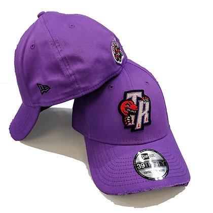 Men's Toronto Raptors New Era Purple 39THIRTY Flex Hat