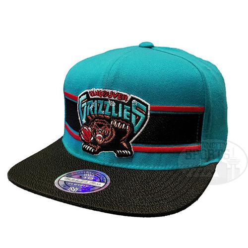 41a834684fc002 Men's Vancouver Grizzlies Eradita Mitchell & Ness Black Flex Snapback Hat