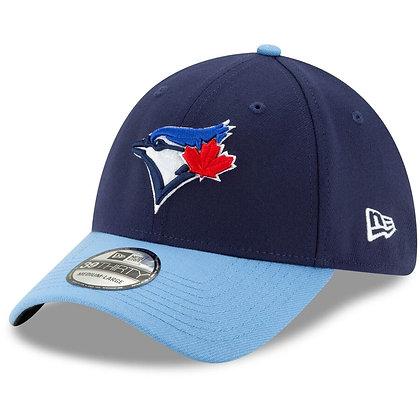 Men's Toronto Blue Jays New Era Alternate 4 Navy Team Classic 39THIRTY Flex Hat