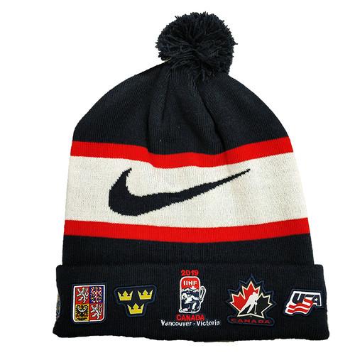 2019 IIHF World Junior Championship Nike Embroidery Beanie / Toque / Knit hat