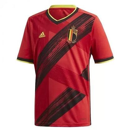 Youth Belgium adidas Home Jersey 2020/21