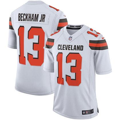 Men's Cleveland Browns Odell Beckham JR Nike White Limited Jersey