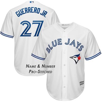 Men's Toronto Blue Jays Vladimir Guerrero Jr. Majestic White Cool Base Jersey