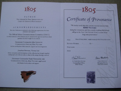 Certificate of Providence