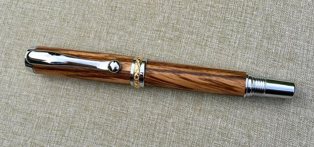 Kingwood Fountain Pen or Rollerball