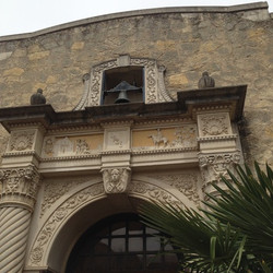 Entrance to Alamo