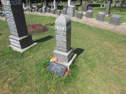 Titanic site grave stones