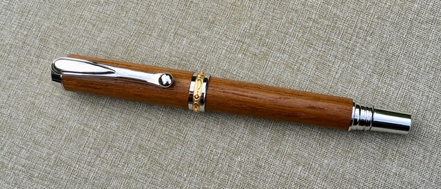 Battleship Teak Fountain Pen