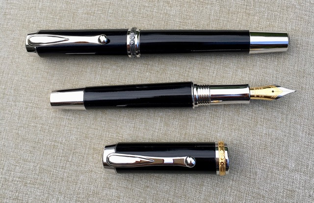 Fountain Pen and Rollerball Pen