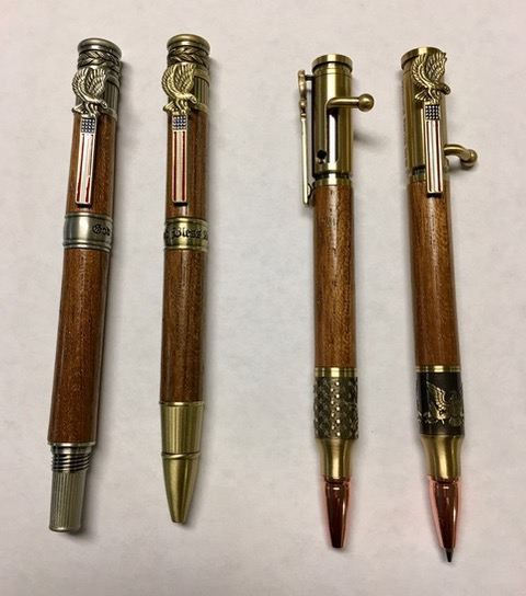 USS North Carolina Pens