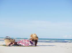 Beach Basking