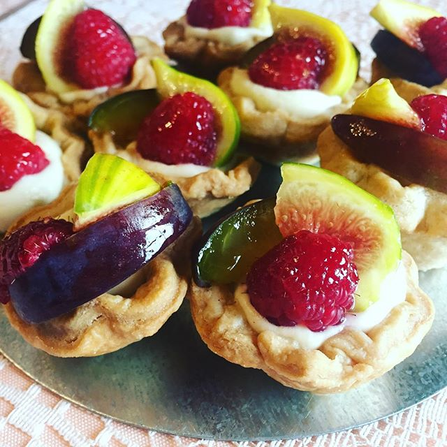 Seasonal Fresh Fruit Tartlets