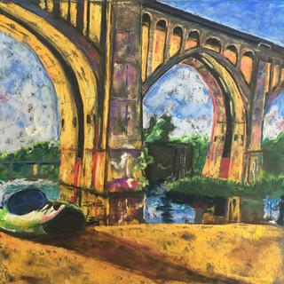 'James River Parking Spot' print