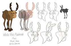 Moose Model Sheet