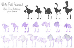 Moose Silhouette Concepts