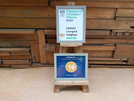Libélula Lounge is Award Winning!