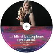 Femke Steketee la fille et le saxophone