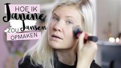 Hoe ik Janine Jansen zou opmaken