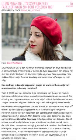 Interview Lilian Farahani