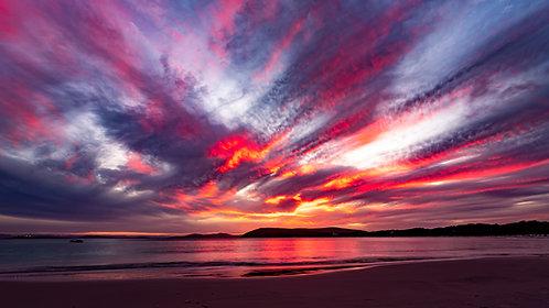 Gull Rock Beach Sunset