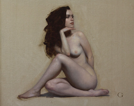Figure Study (Academic Study) -- SOLD