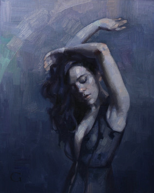 Study for Dance in Blue