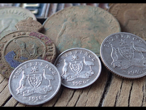Three silvers and three coppers