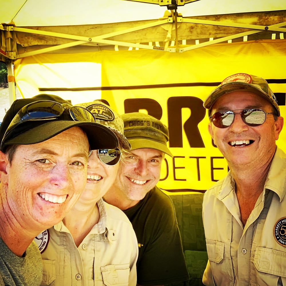 Selfie with the Garrett crew