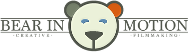 Bear in Motion creative filmmaking grey