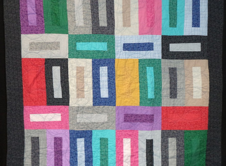 Young Quilter Inspired by Camp Experience