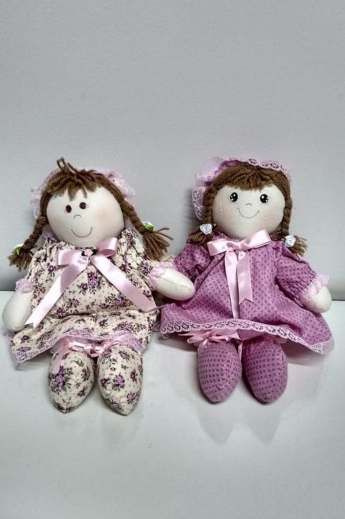 Boneca Rosa AFMA