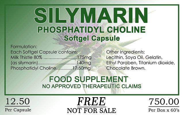 Silymarin 60 Softgel Capsules