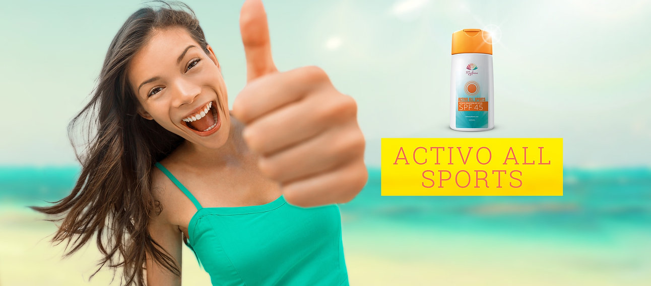 Activo All Sports, SPF 45, brightening lotion, Myzkeene