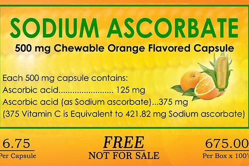 Sodium Ascorbate 100 Capsules