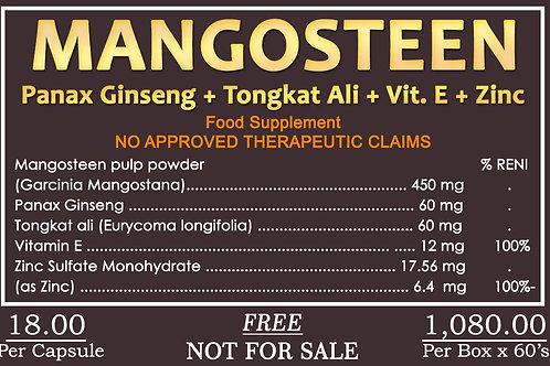 Mangosteen 60 Tablets worth