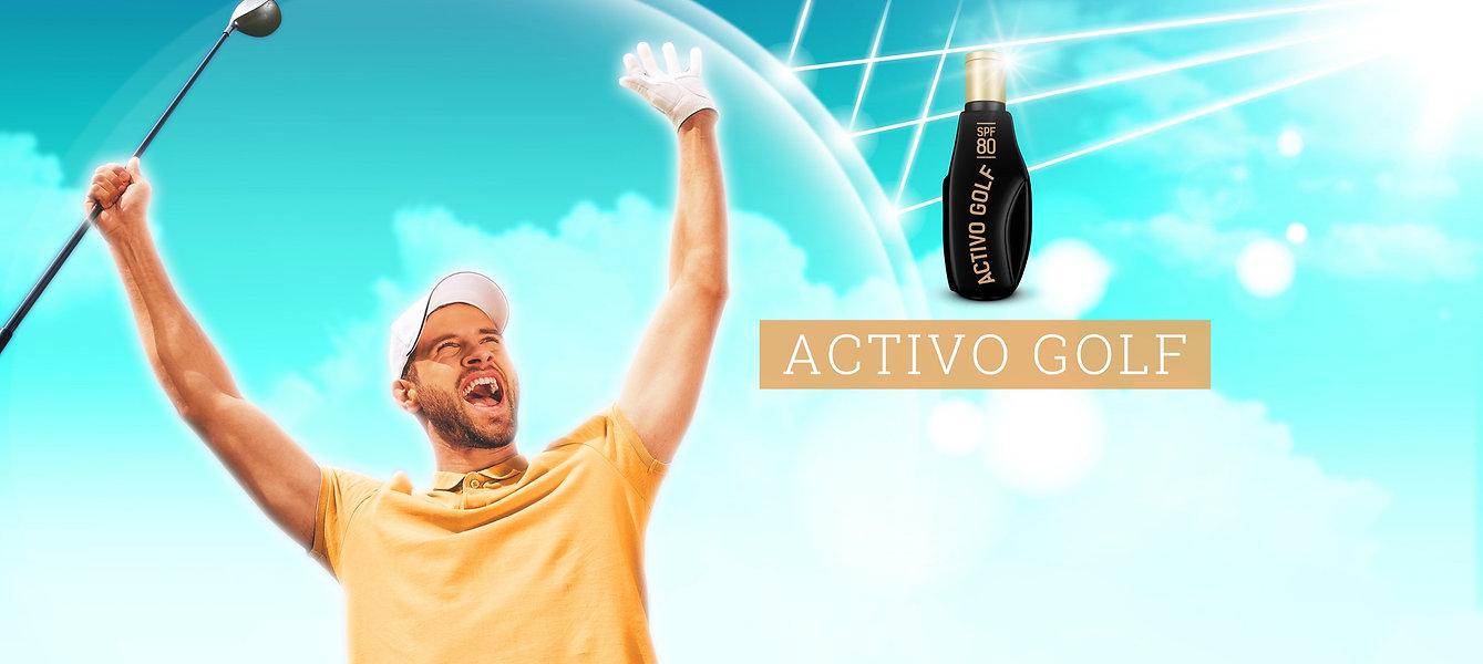 Activo Golf, SPF 80, Sunscreen, Myzkeene