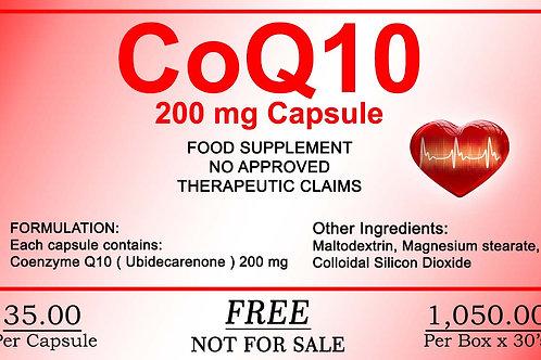 CoQ10 - 30 Capsules