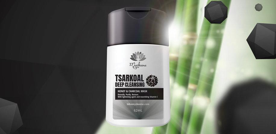TSARKOAL Deep Cleansing Honey & Charcoal Mask (62 ml)