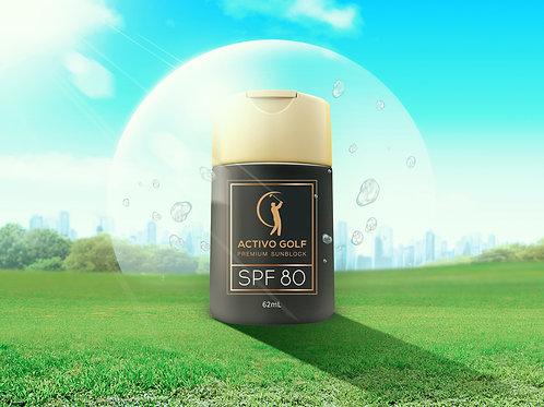 ACTIVO GOLF Premium Sunscreen SPF 80 (62ml)