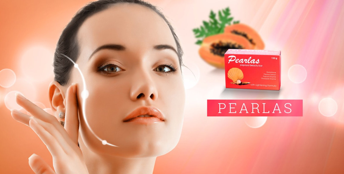 Pearlas, papaya soap, Bibo Myzkeene