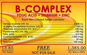 Folex, B Complex, BIBO, Myzkeene
