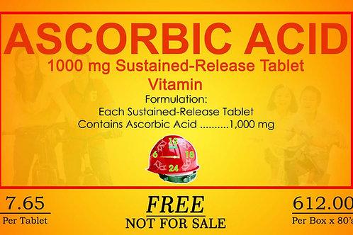 Ascorbic Acid 80 Sustained Release