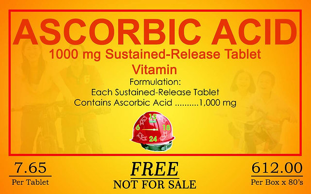 Ascorbic Acid 80 Sustained Release