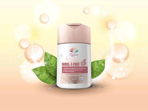 MOOL-T-FRUT Intense Moisturizer with Brightening (62 ml)