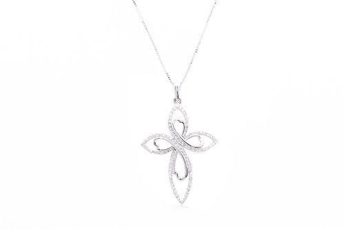 Infinity Diamond Cross