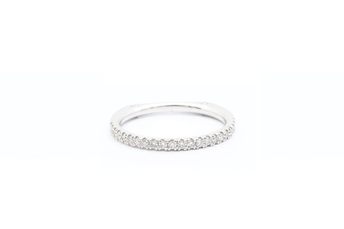 1/3ct Diamond Band - Euro Shank